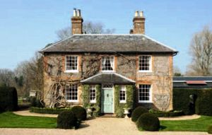 Middleton new home in Bucklebury in Berkshire - now home to visiting grandson the Prince of Cambridge.jpg